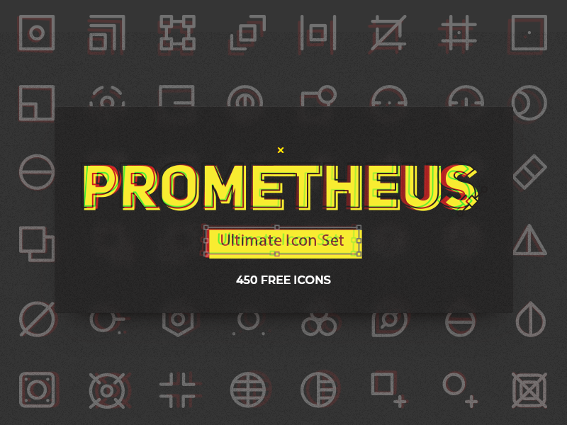 Prometheus Icon Set