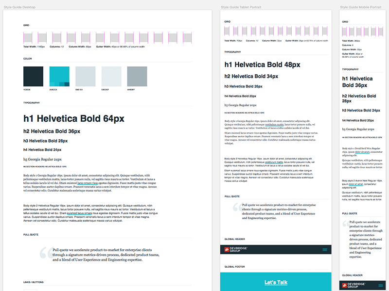 Responsive Style Guide