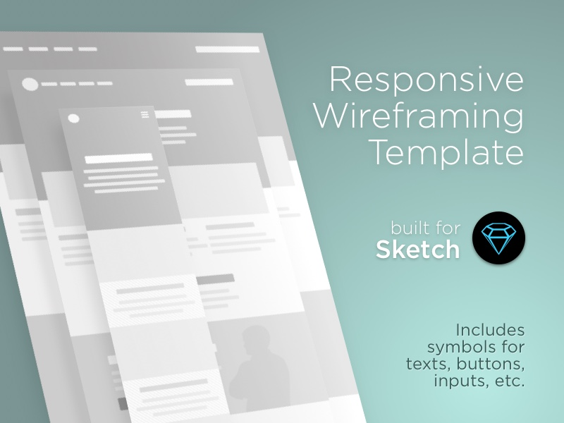 Responsive Wireframe Template