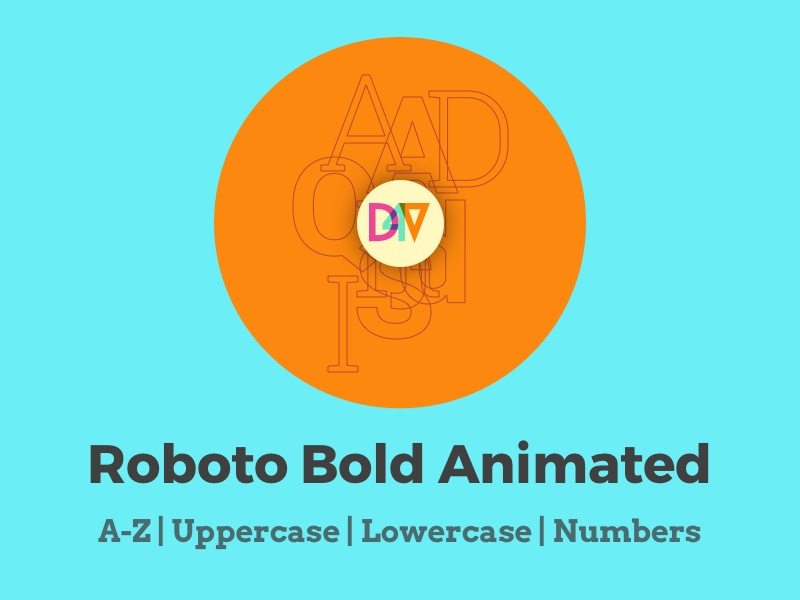 Animated SVG Alphabet Kit