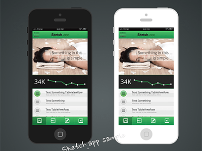 Sample Mockup Sketch App