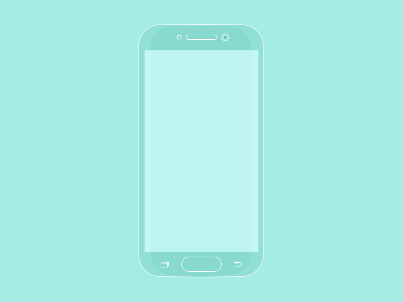 Samsung Galaxy S6 Flat Mockup Sketch freebie - Download ...