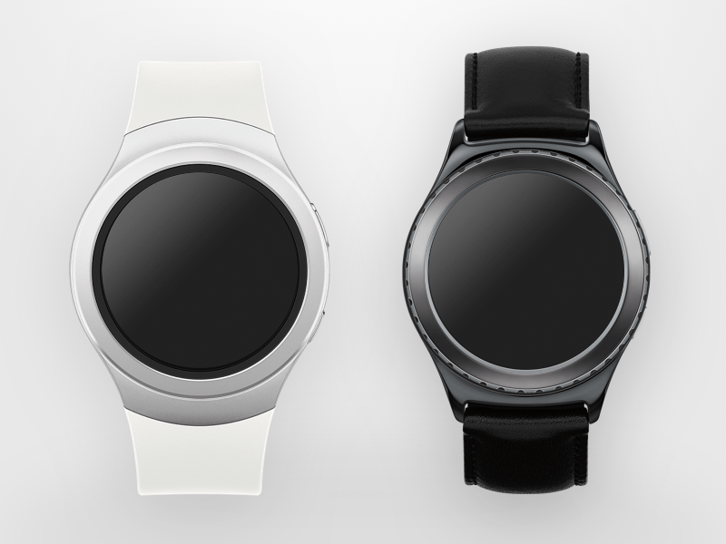 Samsung Gear S2 Mock