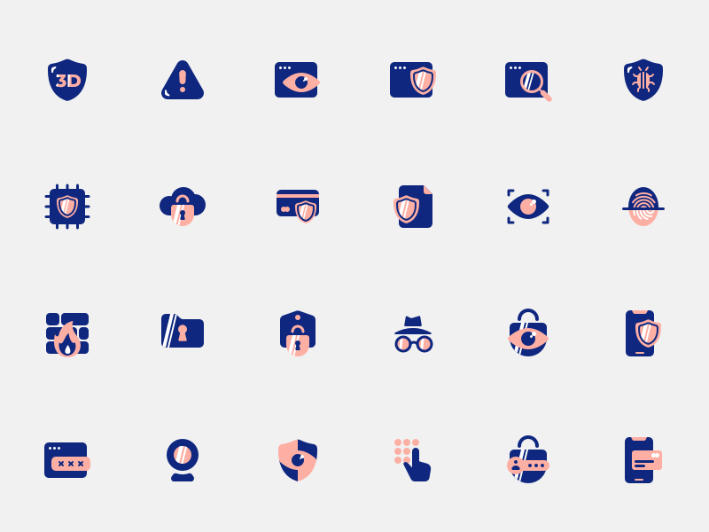 24 Security Icons