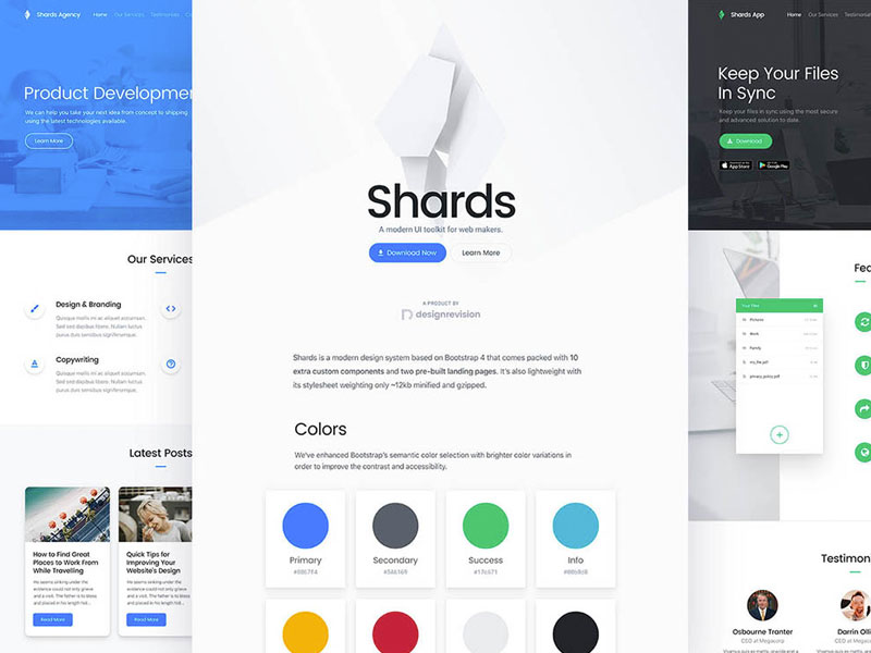 Shards UI Kit