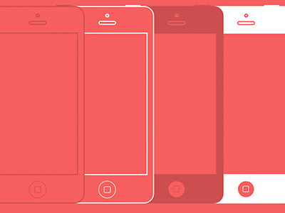 Simple iPhone 5 template