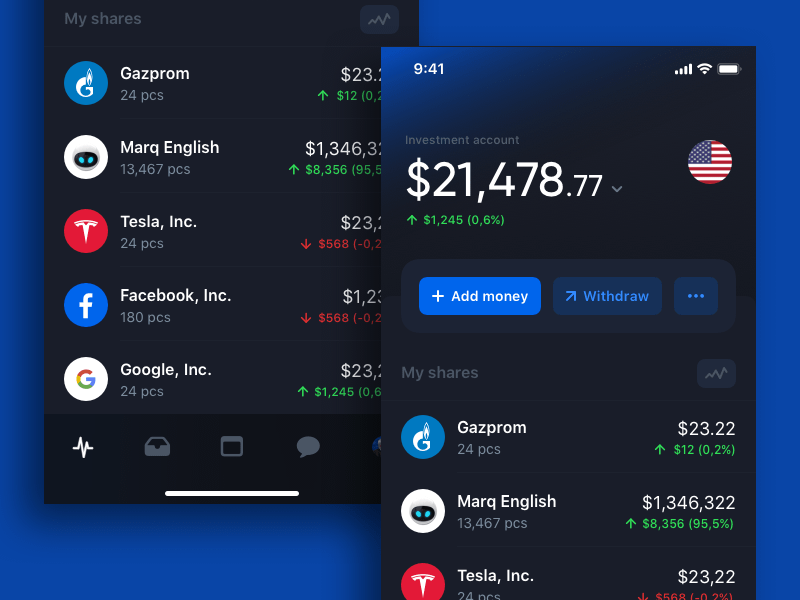 Simple Trading App