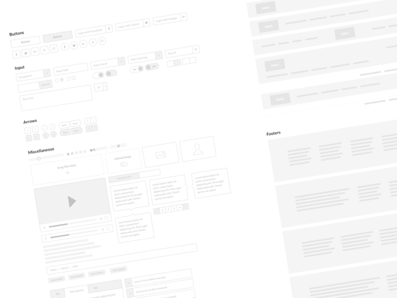 wireframe kits for ios  android  web free resources for