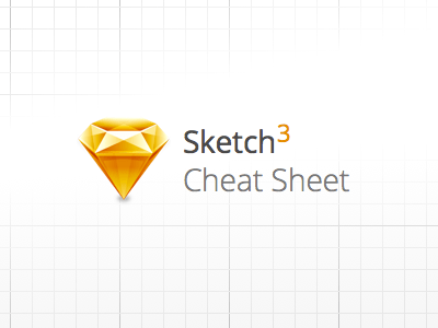 Sketch 3 Cheat Sheet