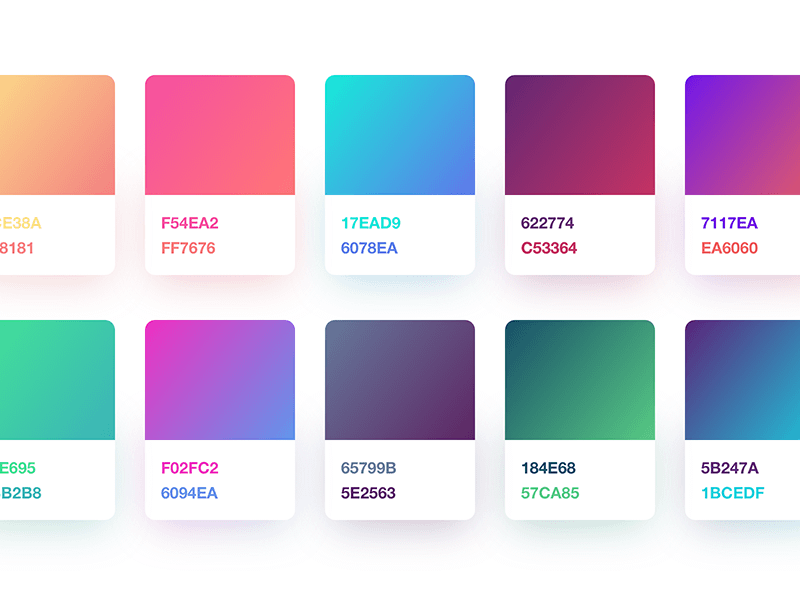 10 Fresh Gradients
