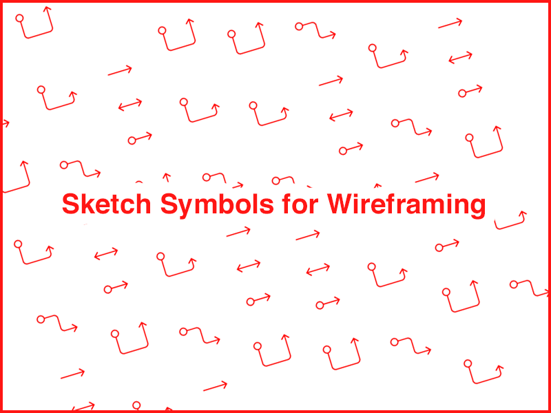 Wireframing Sketch Symbols Sketch Freebie Download Free Resource