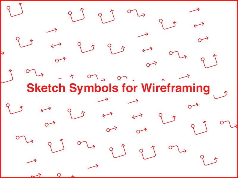 Wireframing Sketch Symbols Sketch freebie - Download free resource ...