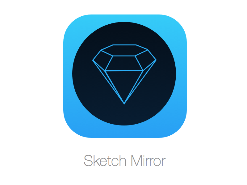 Sketch Mirror for iOS Sketch freebie - Download free