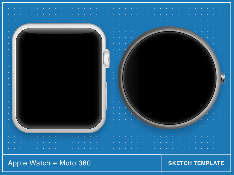 Apple Watch and Moto 360