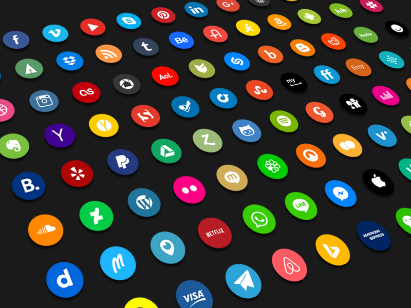 96 Company Icons and Logos