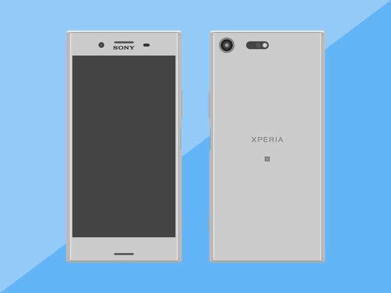 Sony Xperia XZ Premium Sketch freebie - Download free resource for