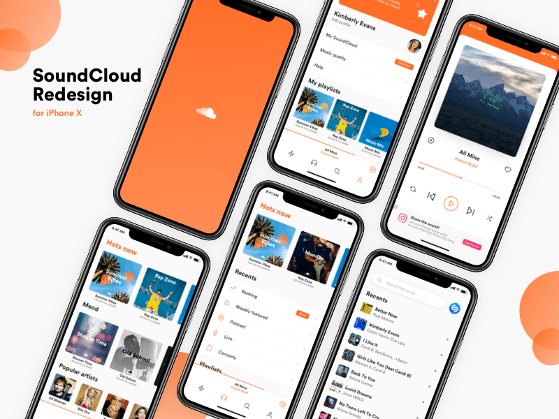 SoundCloud iOS Concept