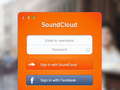 SoundCloud Sign In
