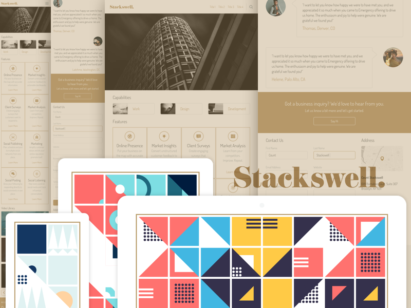 Stackswell UI Kit
