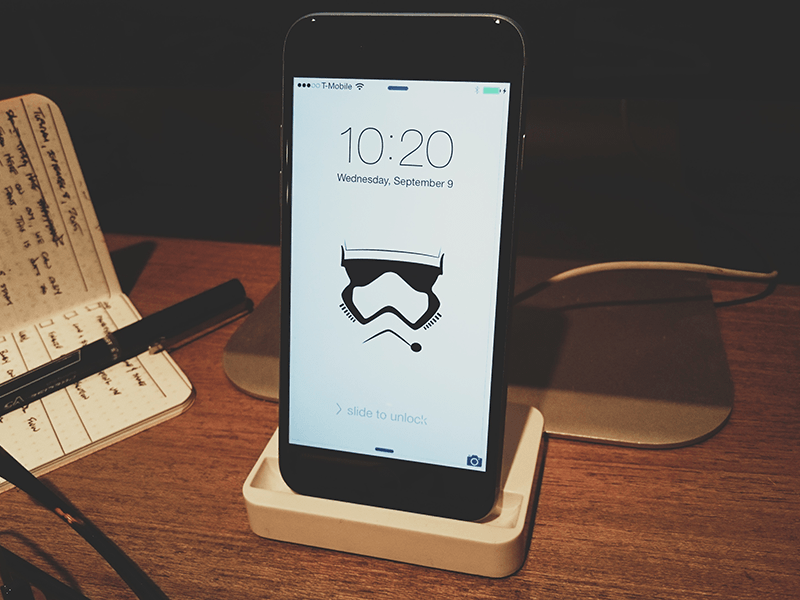 Stormtrooper iPhone Background