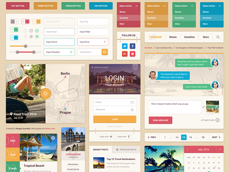 Summer UI Kit
