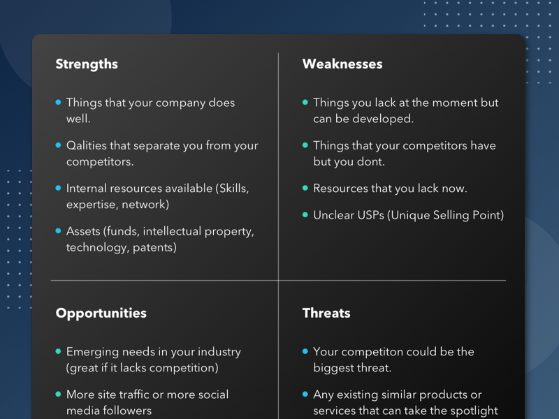 Swot Analysis Template Sketch Freebie Download Free Resource For Sketch Sketch App Sources