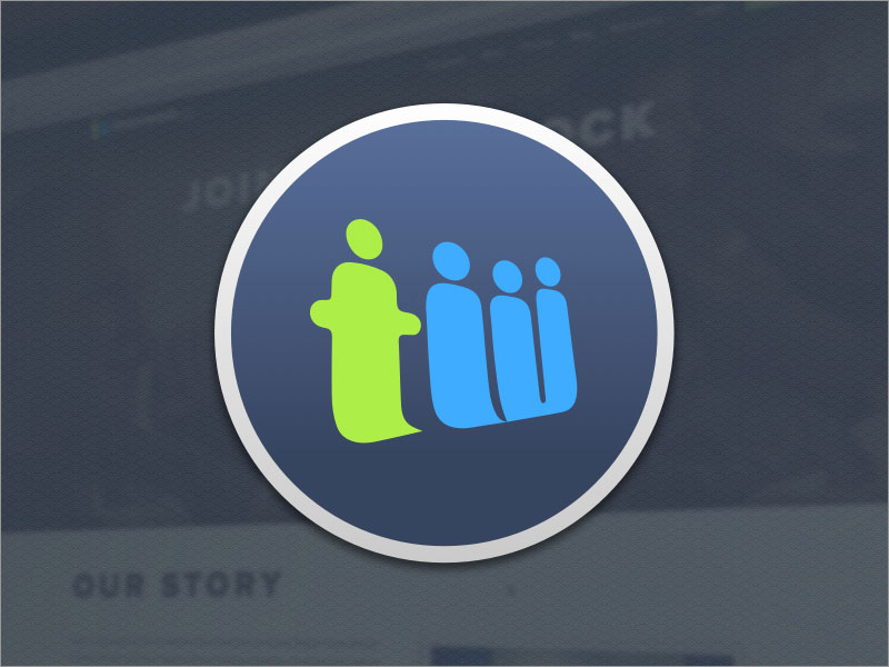 teamwork app icon logo sketch freebie - download free resource for sketch