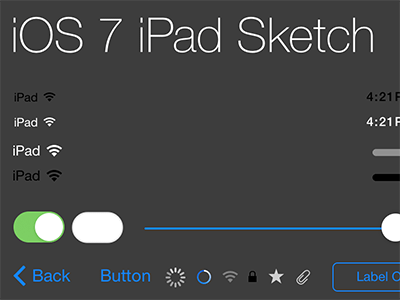 Teehan Lax iPad iOS7 Sketch Kit