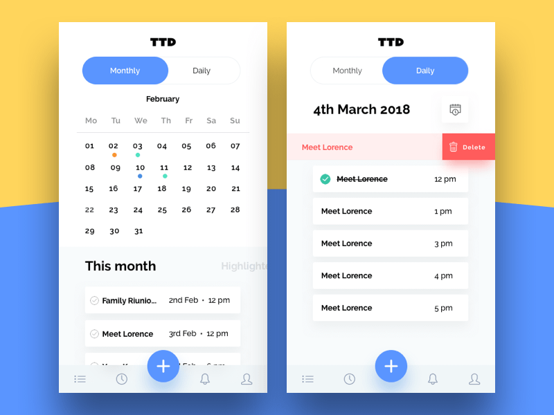 To-Do List App Sketch freebie - Download free resource for