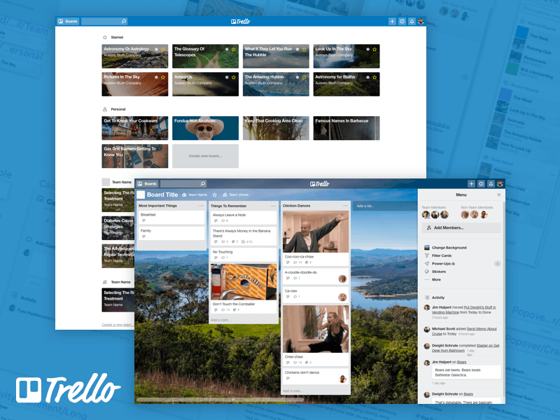 Trello - Nacho UI Kit
