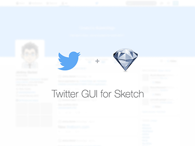 New Twitter profile GUI