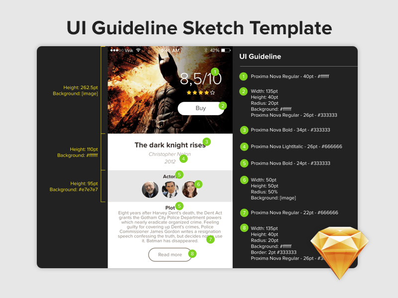 UI Guideline Template