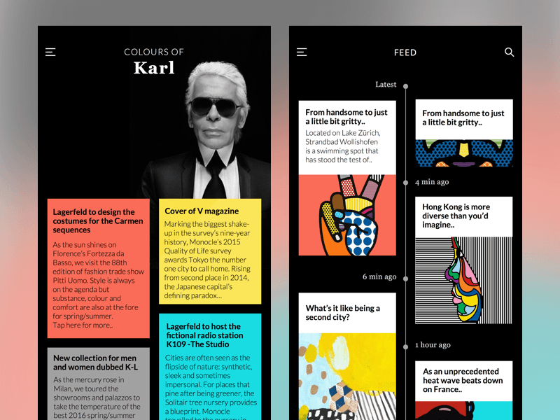 UI Kit - Colours of Karl