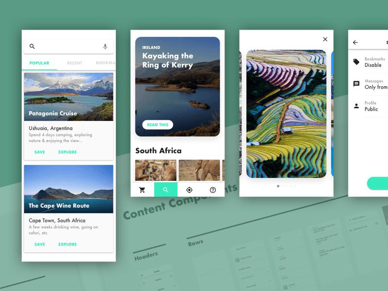 UI Curve Kit Sketch freebie - Download free resource for