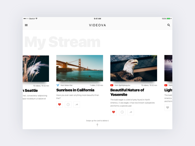 iPad GUI Kit and Tablet UI Kit free resources for Sketch - Sketch