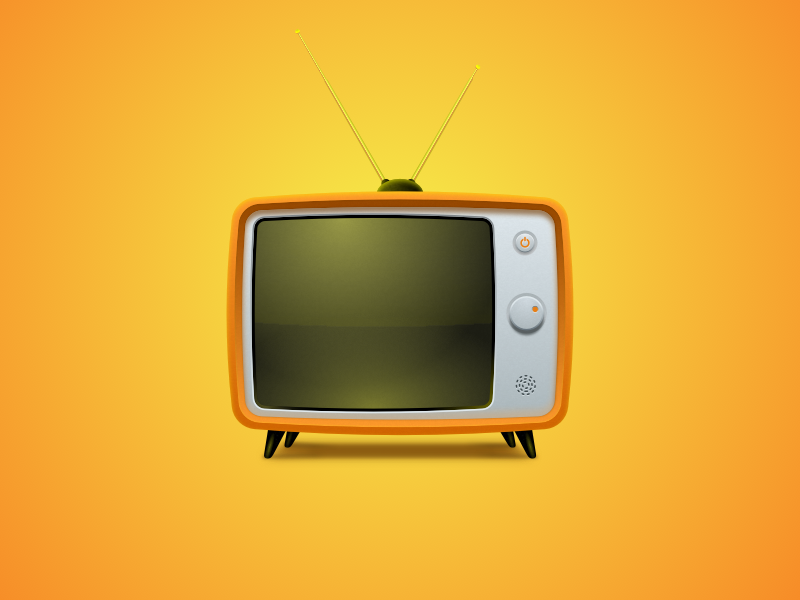 Vintage TV Sketch Freebie