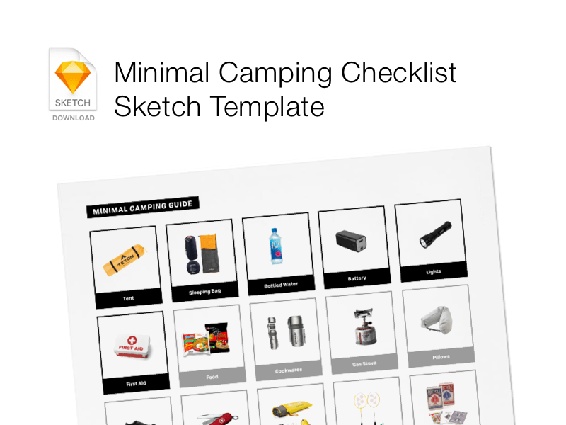 Visual Checklist Template