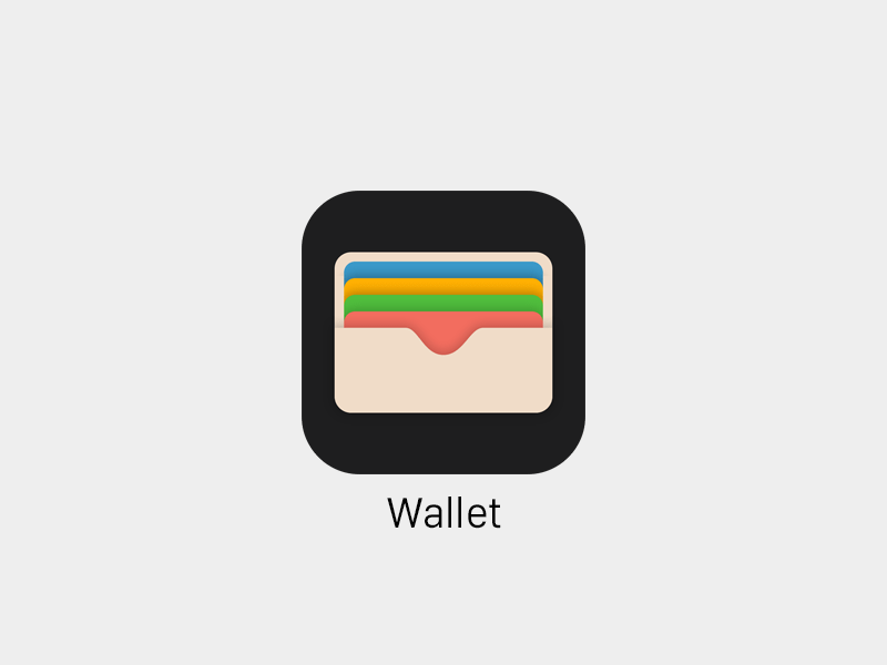 Wallet Icon Ios9 Sketch Freebie Download Free Resource