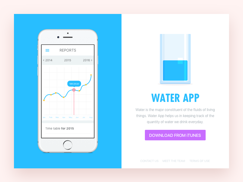 Water app sketch freebie download free resource for sketch water app sketch resource ccuart Image collections