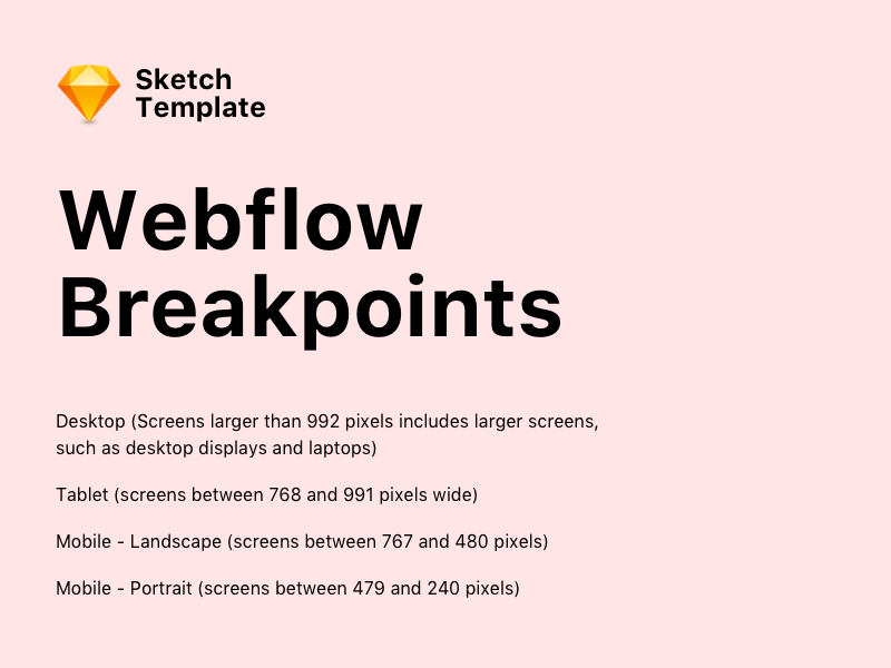 Webflow Breakpoints Template