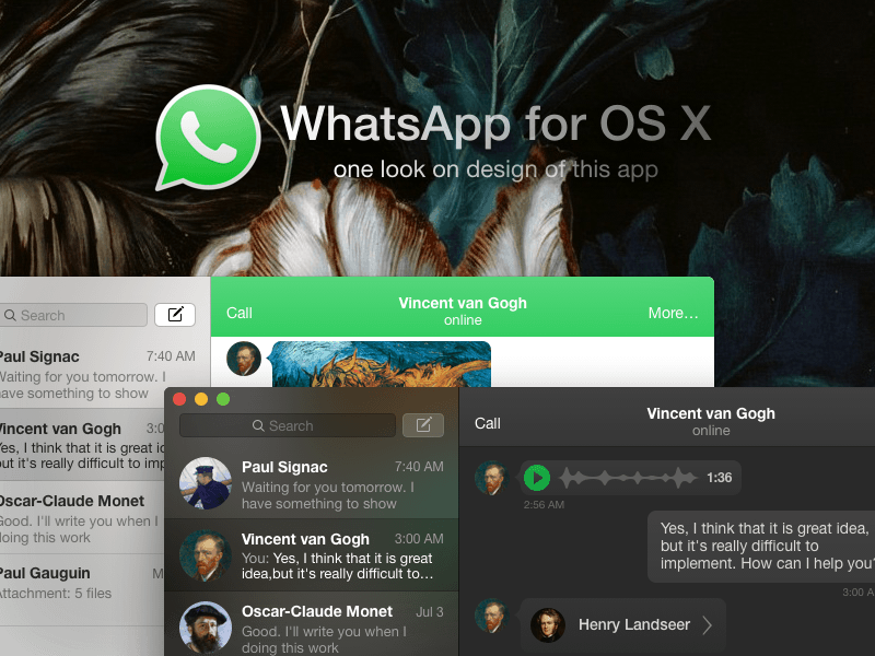 WhatsApp for Mac - not quite there yet