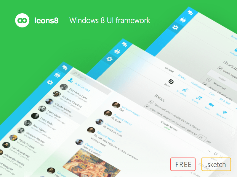 Windows 8 UI Framework
