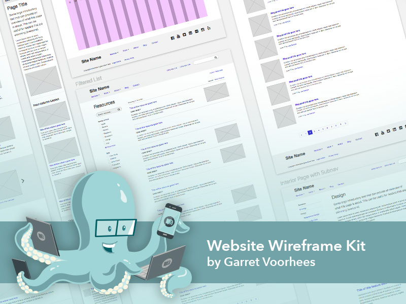 Free Wireframe Template Sketch freebie - Download free resource for ...