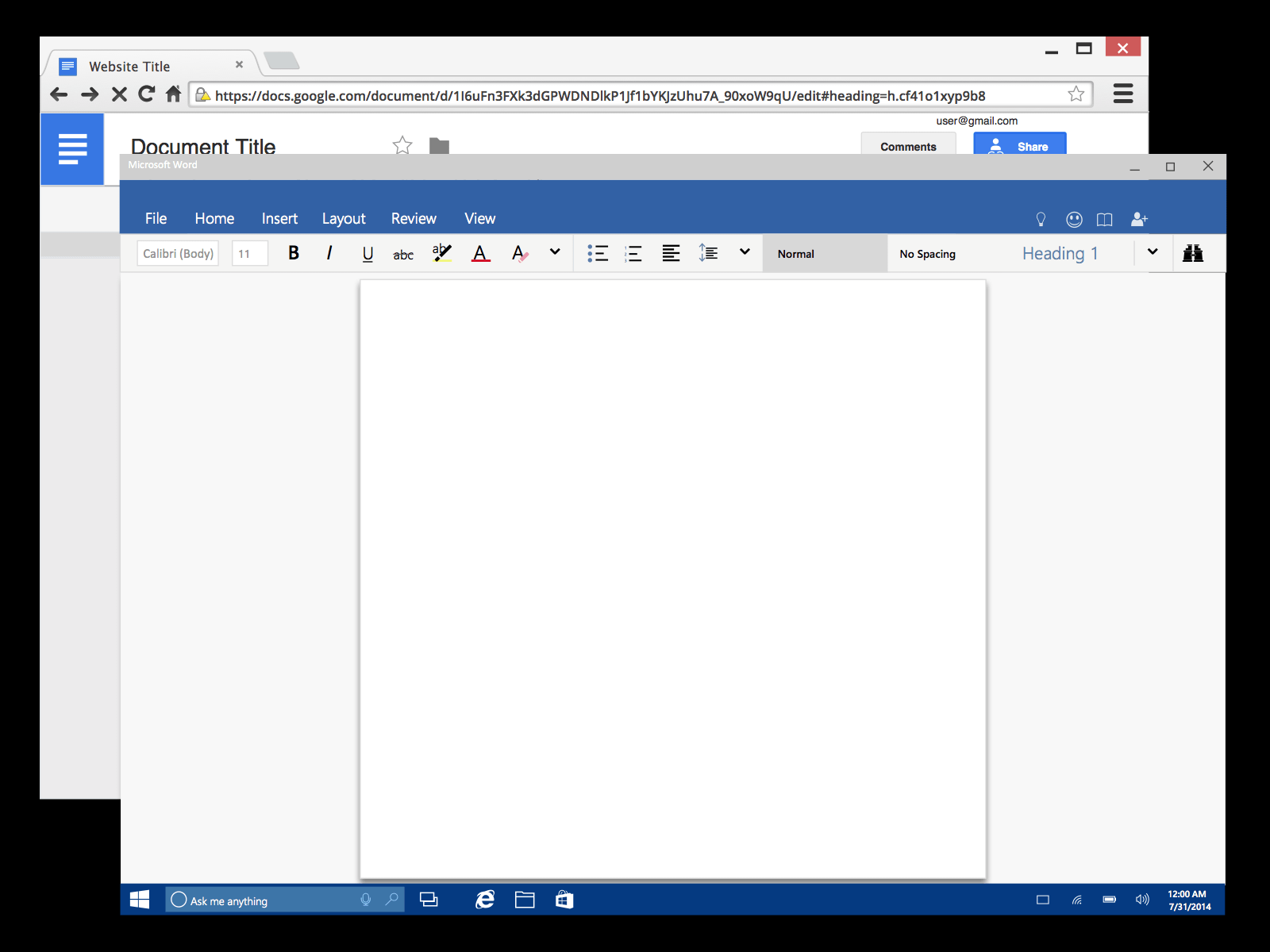 Google Docs And Microsoft Word Frames Sketch Freebie Download Free - Google documents download