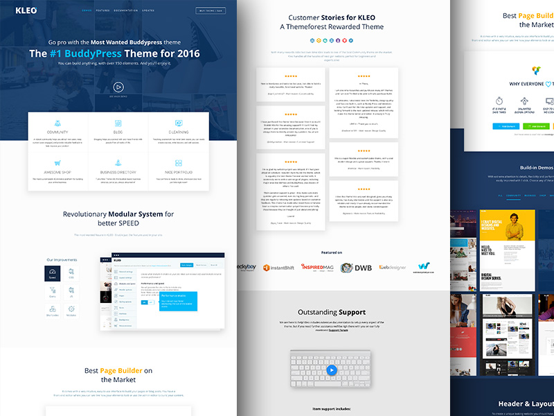 kleo wordpress theme sketch freebie download free resource for