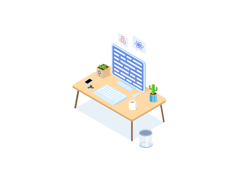 Workspace Illustration
