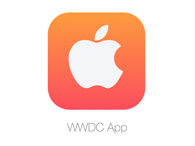 WWDC 14 Icon for iOS