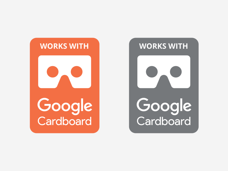 Google Cardboard VR Badges