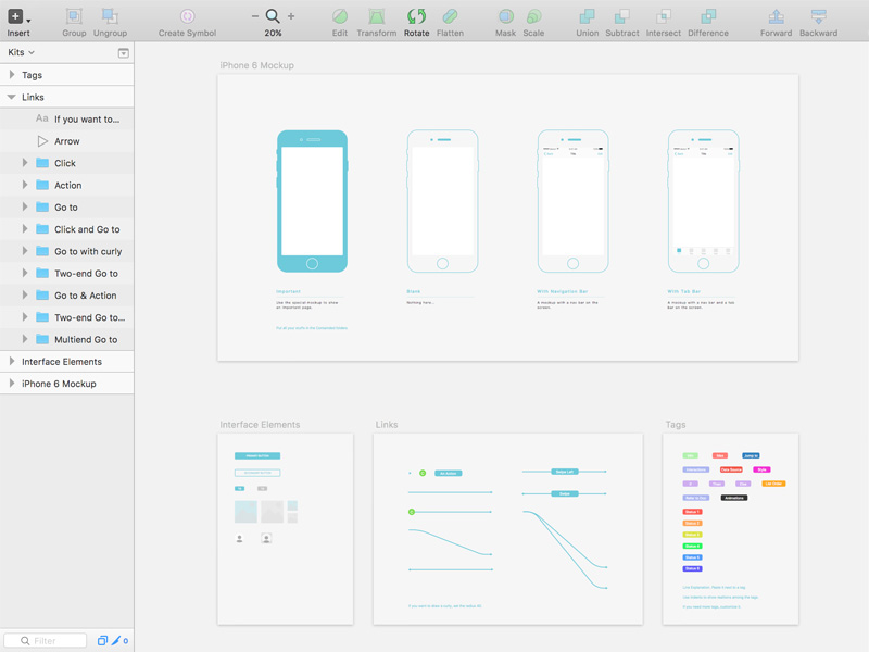 Responsive Wireframe Template Sketch Freebie Download Free