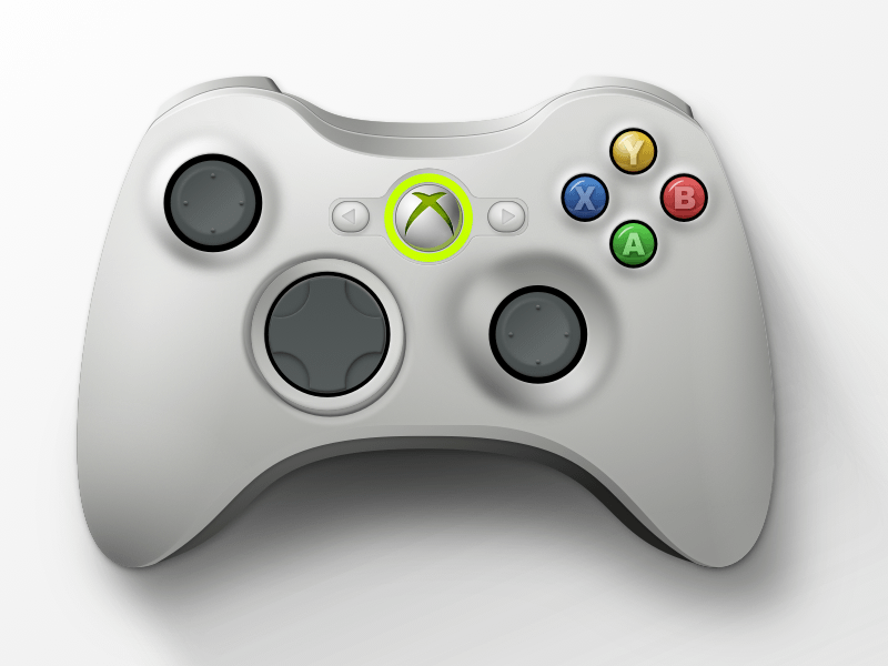 Xbox Controller Sketch freebie - Download free resource for Sketch
